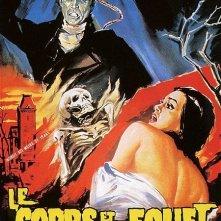 La locandina francese del film La frusta e il corpo