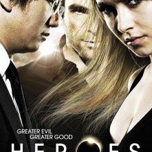 Poster promozionale della stagione 4 di Heroes