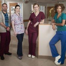 Una foto promozionale del cast della serie Mercy