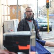 Il regista Pasquale Marrazzo sul set di Sogno il mondo il venerdì