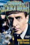 La locandina di The Triumph of Sherlock Holmes - Il trionfo di Sherlock Holmes