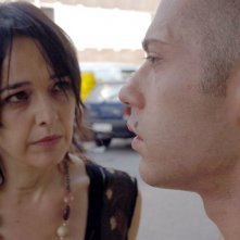 Laura Ferrari e Giovanni Brignola in una scena del film Sogno il mondo il venerdì