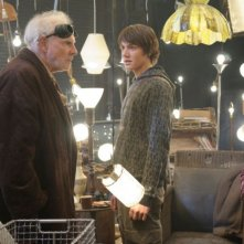 Bruce Dern, Chris Massoglia e Haley Bennett in una scena del film The Hole in 3D