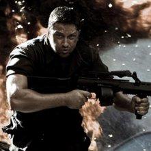 Gerard Butler in un'immagine del film Gamer