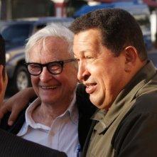 Hugo Chávez in un'immagine del documentario South of the Border
