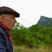 Il regista Jacques Rivette sul set del film Questione di punti di vista