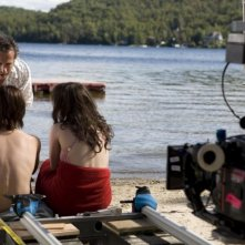 Jaco Van Dormael sul set del film Mr. Nobody