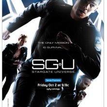 La locandina di Stargate Universe