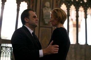 Pippo Delbono e Tilda Swinton in una scena del film Io sono l'amore