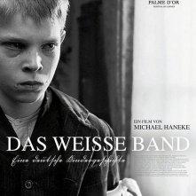 Poster austriaco per il film Il nastro biaco