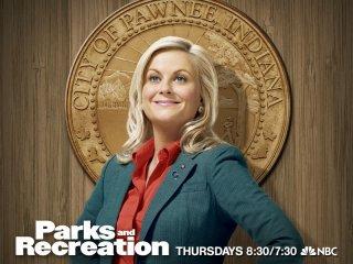 Poster promozionale della stagione 2 di Parks and Recreation