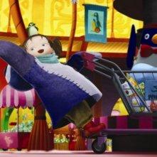 Un'immagine del film d'animazione Yona Yona Penguin di Rintaro