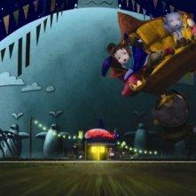 Un'immagine del film Yona Yona Penguin