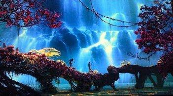 Una delle prime immagini del film Avatar, diretto da James Cameron