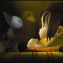 Una scena del film d'animazione Yona Yona Penguin di Rintaro