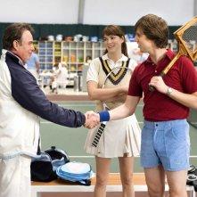 Billy Bob Thornton, Jacinda Barrett e Jon Heder in una scena del film Scuola per canaglie