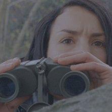 Noomi Rapace in una scena del film La ragazza che giocava con il fuoco