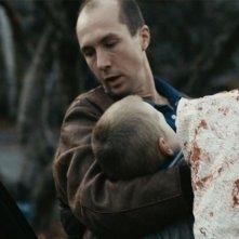 Olle Sarri in un'immagine del film Apan