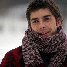 Un primo piano di Michele Riondino, protagonista del film Dieci inverni