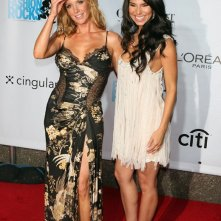 Poppy Montgomery e Roselyn Sanchez al Fashion Rocks Concert, a New York nel 2006