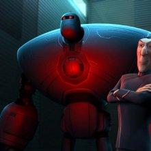 Un'immagine tratta dal film Astro Boy