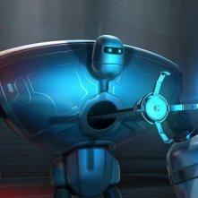 Un'immagine tratta dal film d'animazione Astro Boy