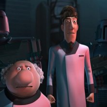 Un'immagine tratta dall'atteso film d'animazione Astro Boy