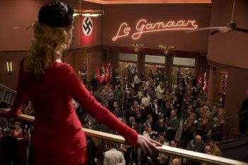 Una scena del film Bastardi senza gloria di Quentin Tarantino
