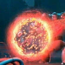 Una scena del film d'animazione Astro Boy, diretto da David Bowers