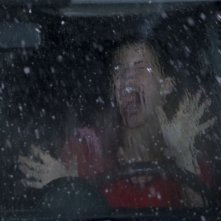 Haley Webb in una scena del film The Final Destination