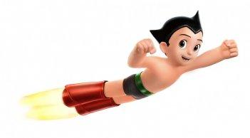 Il protagonista del film d'animazione Astro Boy