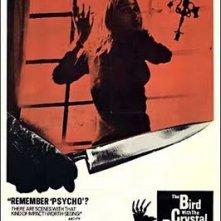 La locandina americana del film L\'uccello dalle piume di cristallo (1970)