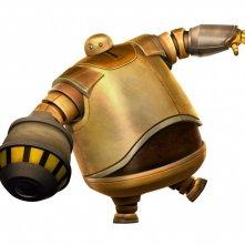 Un'immagine promozionale di Zog del film Astro Boy
