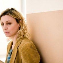 Un primo piano di Margherita Buy, protagonista del film Lo spazio bianco di Francesca Comencini