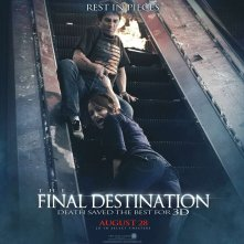 Un wallpaper del film The Final Destination