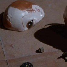 Alcuni resti del celebre pupazzo del film Profondo Rosso ( 1975 )