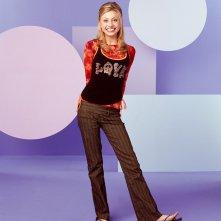 Alyson Michalka in una foto promozionale per la serie 'Phil dal futuro'