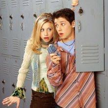 Alyson Michalka (Keely Teslow) e Ricky Ullman (Phil Diffy) per la stagione 1 di Phil of the Future