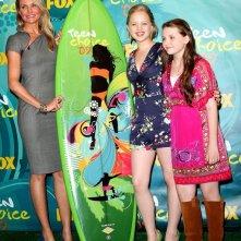 Cameron Diaz, Sofia Vassilieva e Abigail Breslin vincono il premio come 'Miglior film Drammatico dell'estate' ai Teen Choice Awards 2009