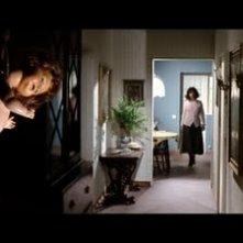 Giuliana Calandra in una scena del film Profondo Rosso ( 1975 )