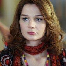 Heather Burns in una scena della nuova serie HBO Bored to Death