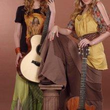 Il duo musicale delle sorelle 'Aly & A.J.' Michalka