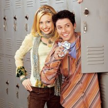 Un'immagine promo di Alyson Michalka e Ricky Ullman per la stagione 1 di Phil of the Future
