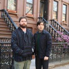 Zach Galifianakis e Jason Schwartzman nella nuova serie HBO Bored to Death