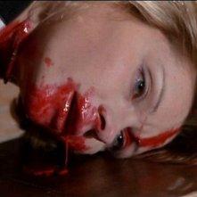 Macha Méril in una scena del film Profondo Rosso (1975)