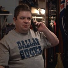 Patton Oswalt in una scena del film Big Fan