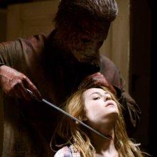 Una scena dell'horror Halloween 2 diretto da Rob Zombie