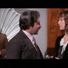 Daria Nicolodi in una scena del film Profondo Rosso (1975)