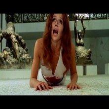 Eva Renzi in una scena del film L\'uccello dalle piume di cristallo (1970)