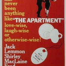 La locandina di L'appartamento